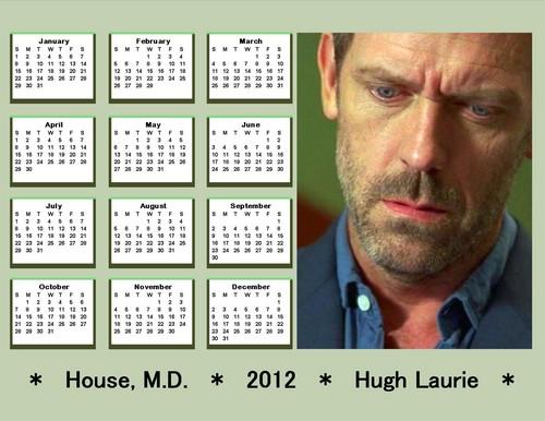 2012 HOUSE Calendar