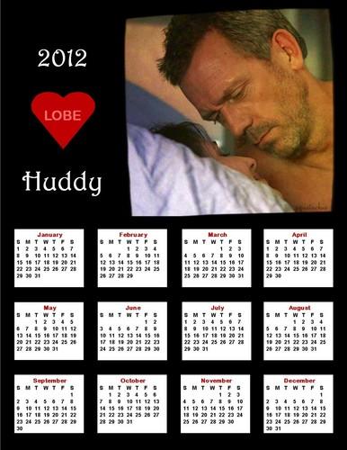 2012 Huddy Calendar