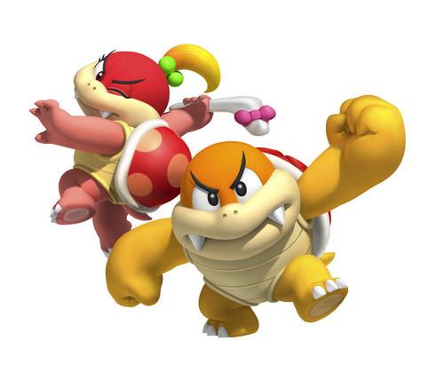 Super Mario 3D Land Characters