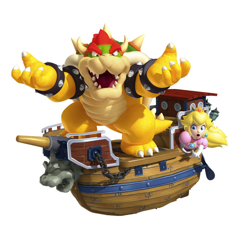 Super Mario 3D Land Bowser