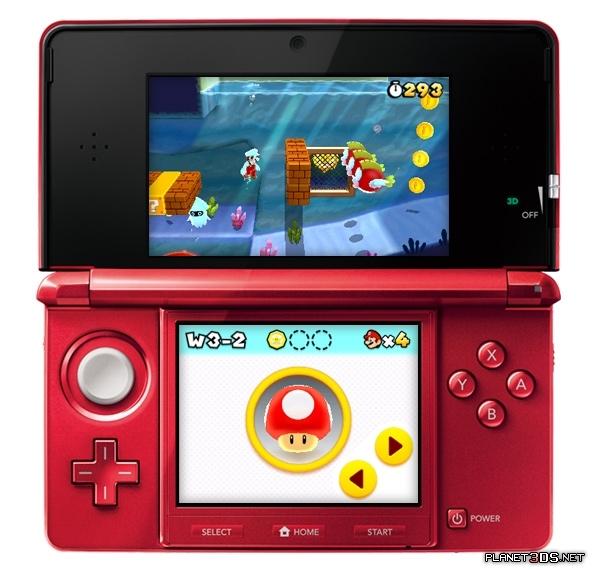 Super Mario 3DS Games
