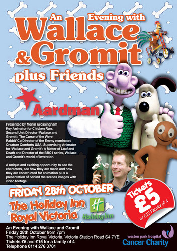 A night with Wallace and Gromit - wallace-and-gromit Photo