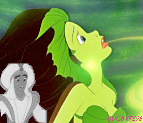 Aladdin's mistake