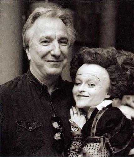 Alan Rickman & Helena Bonham Carter
