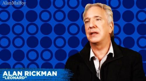 Alan Rickman- SEMINAR