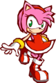 Amy Rose in Sonic Battle