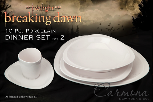 Breaking Dawn The Movie wallpaper probably with a coffee break, pancakes, and a bone china titled BD Dinnerware