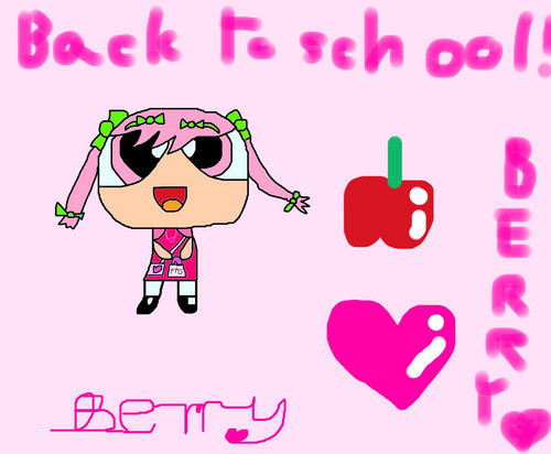 Back to school Berry!