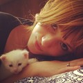 Bella and her kitten. - bella-thorne photo