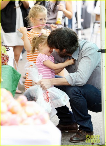 Ben Affleck: Kisses for Seraphina!