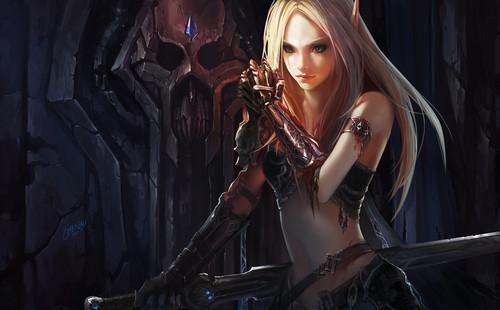 Blood Elf Dk
