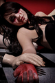 Bloody Scout - scout-taylor-compton photo