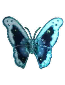 Blue schmetterling