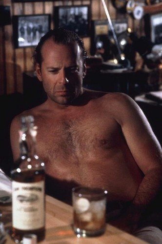 Bruce Willis wallpaper possibly containing a hot tub entitled Bruce