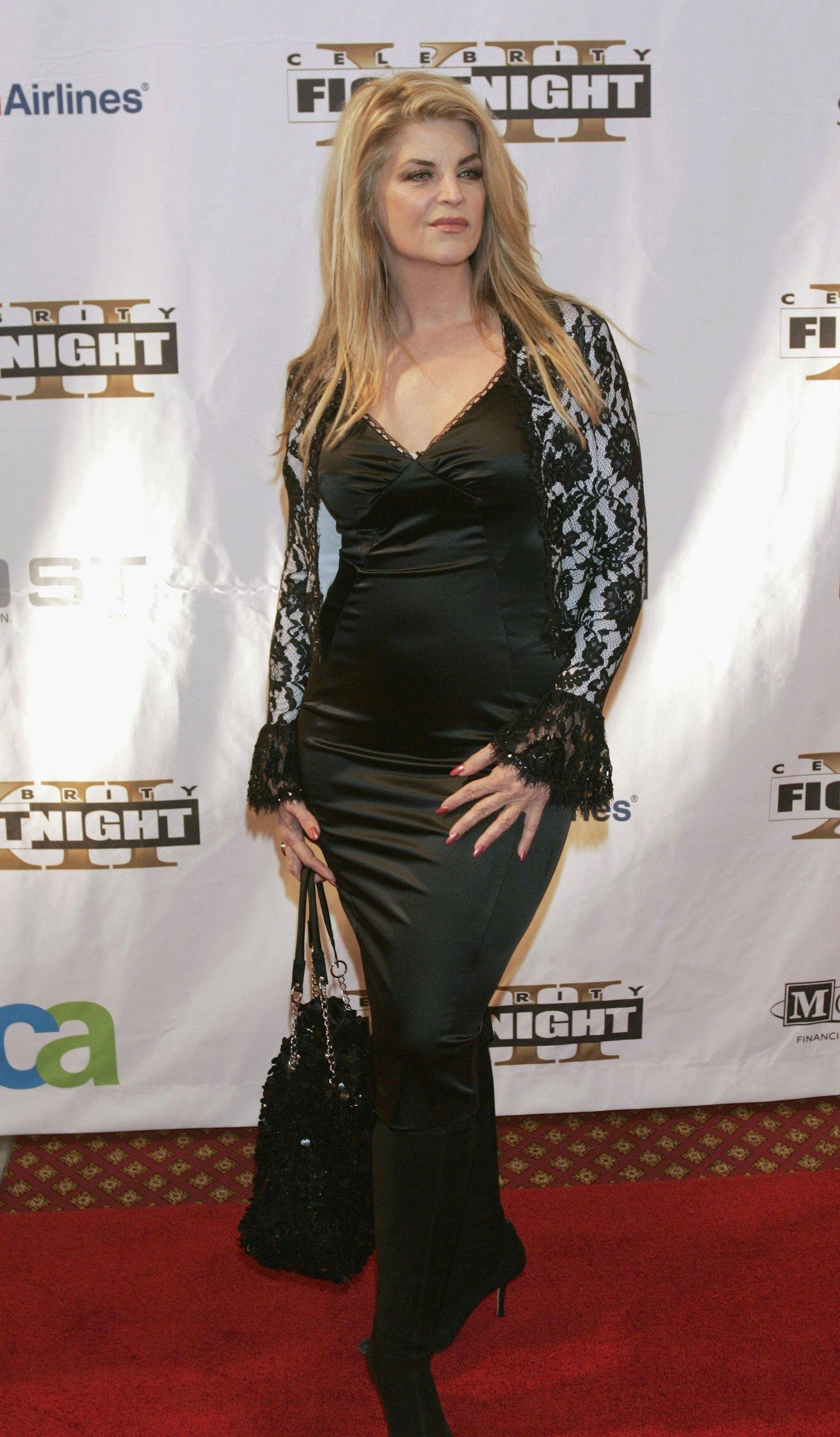 Kirstie Alley Celebrity Fight Night XII
