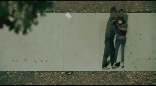 Adele Hintergrund possibly containing a sign and a straße called Chasing Pavements [Music Video]