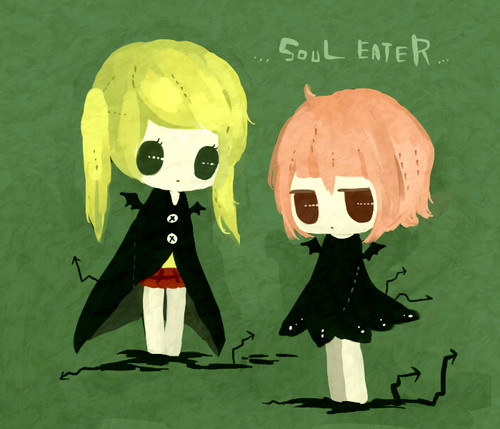 चीबी Maka and Crona