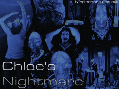 Stargate Universe wallpaper possibly containing a concert, a sign, and a street titled Chloe's Nightmare 2.0