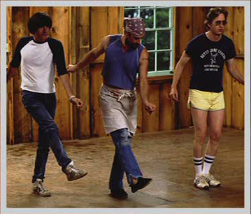 Michael Showalter, Chris Meloni & A.D. Miles in Wet Hot American Summer