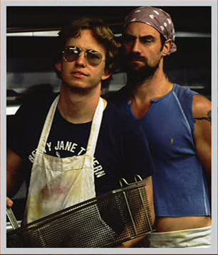 Chris Meloni & A.D. Miles in Wet Hot American Summer