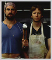 Chris Meloni & A.D. Miles in Wet Hot American Summer - chris-meloni photo