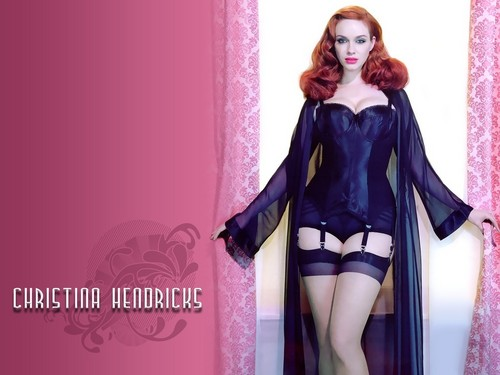 Christina Hendricks (Joan from Mad Men) Hintergrund
