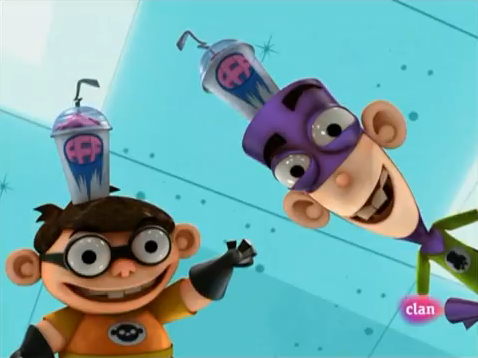 Fanboy and Chum Chum Club वॉलपेपर entitled Chum Chum & Fanboy