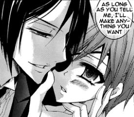Ciel and sebas-chan