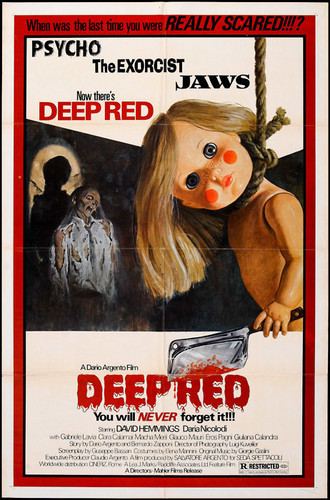 Deep Red -1975- Horror Movie Poster