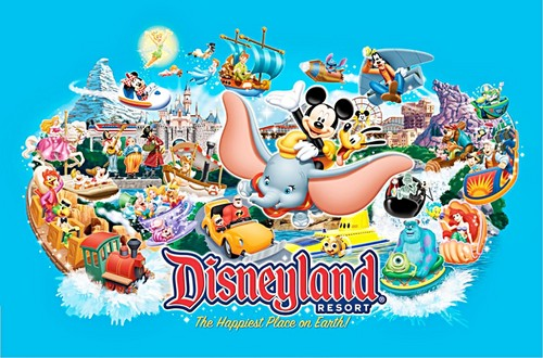 Disneyland, Resort - The Happiest Place on Earth