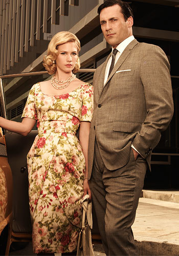 Don and Betty - mad-men Photo