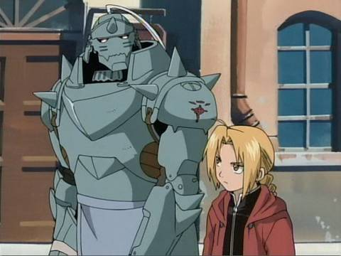 Alphonse Elric fondo de pantalla with anime entitled Edward Elric y Alphonse Elric