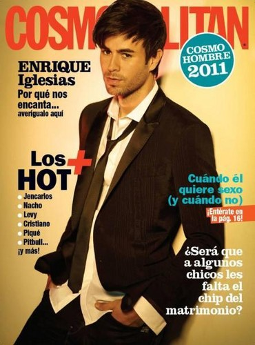 Enrique Iglesias New cover