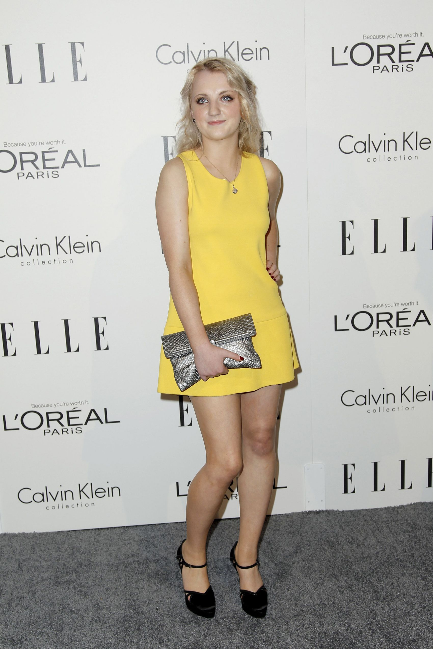 Evanna attends the ELLE 18th Annual Women in Hollywood Tribute [October 17th]