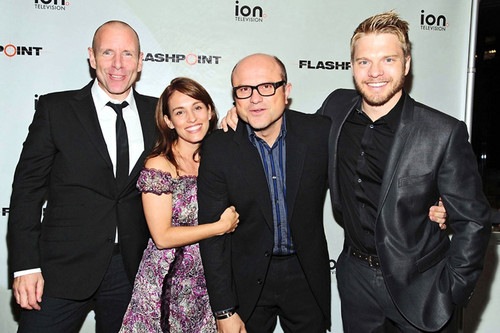 FLASHPOINT Cast on ION Launch Party