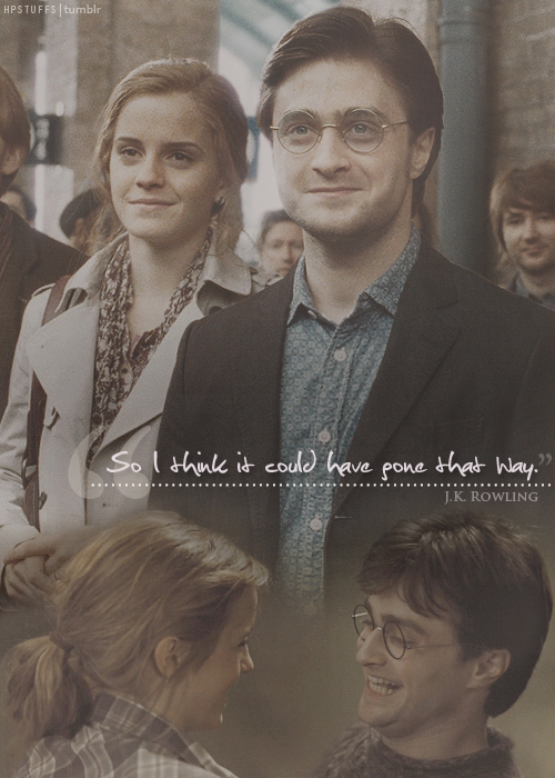 Harry And Hermione Fan Art Pictures to Pin on Pinterest ...
