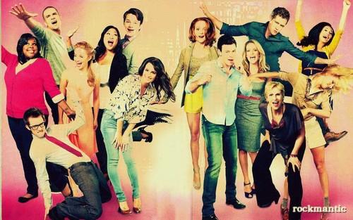 Fantastico Glee's Picutre