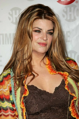 Kirstie Alley wallpaper probably with a portrait entitled Fat Actress Premiere