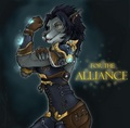 For the Aliance - world-of-warcraft fan art