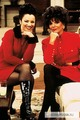 Fran &amp; Joan Collins - the-nanny photo