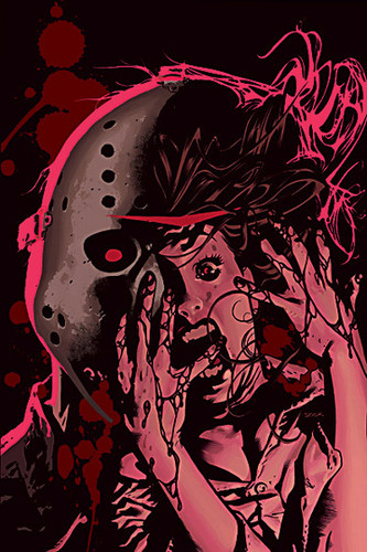 Friday the 13th wallpaper probably containing a red cabbage called Friday the 13th Comics by Wildstorm