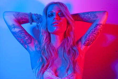 gin Wigmore ~ 'Gravel & Wine' Promotional Photoshoot