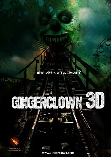 filmes de terror wallpaper titled Gingerclown 3D