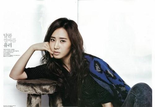 Girls' Generation's Yuri Rocks High Cut