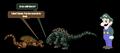 Godzilla meets Weegee