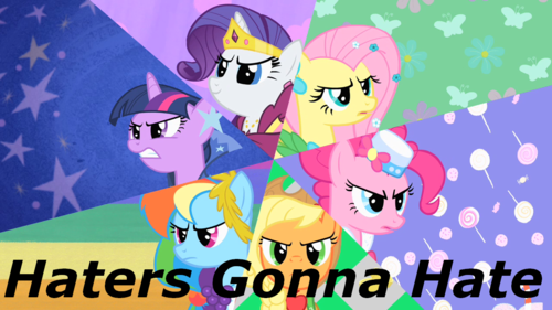 Haters Gonna Hate~Everyone