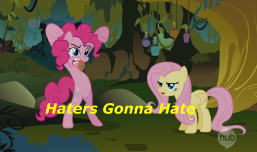 Haters Gonna Hate~Flutterguy