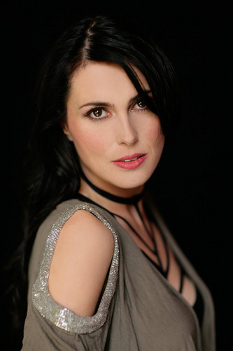 Her favourite singer, Sharon tana, den Adel (Within Temptation)