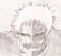 Hollow mask ichigo - anime fan art