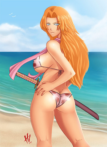 Hot Summer - rangiku-matsumoto Fan Art